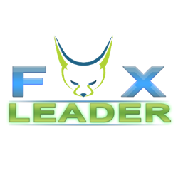 Logo simleader fox leader